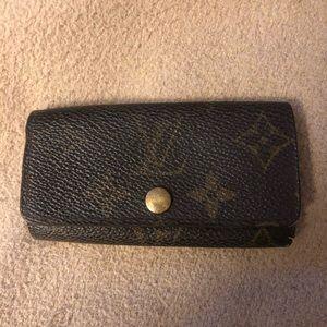 Louis Vuitton Monogram Brown Key Holder